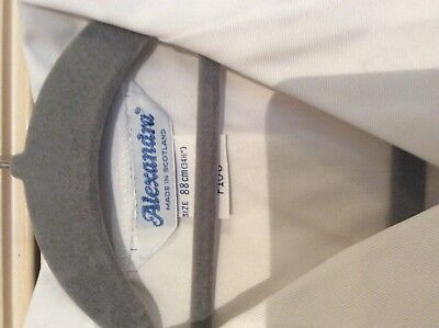 "Alexandra white Lab / catering ect L/S jacket  F106 34.5"" chest 4"