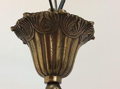 Antique Style Brass Chandelier 4