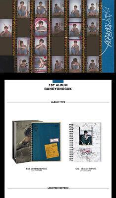 B.A.P BANG YONG GUK 1st Album NORMAL/LIMITED Ver CD+POSTER+Book+Card+etc SEALED 4