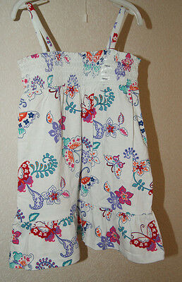 GAP summer dress with butterflys for a girl 2 years  Gr. 84-91 cm BNWT 2