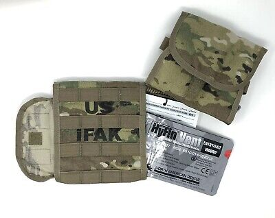 USGI IFAK II Military Individual First Aid Kit Medical Field Gear Complete Pack 3