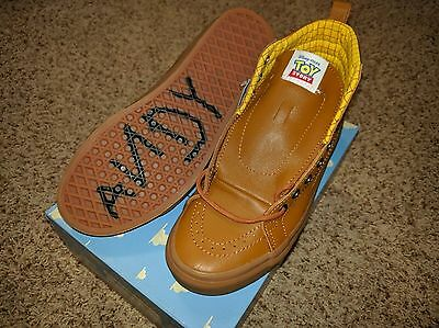 361610aeab ... 5 of 7 Vans Sk8 Hi Toy Story Woody Boot Skate Shoe Brown Disney ANDY  Sneakerboots . ...