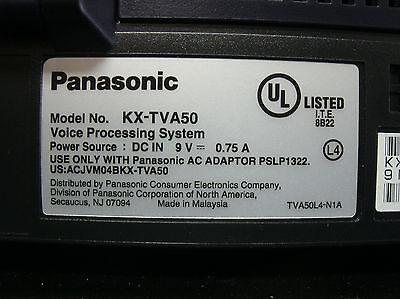 Panasonic KX-TVA50 Voice Mail Voice Processing System 2 Port 4 Hour & Power #A 3