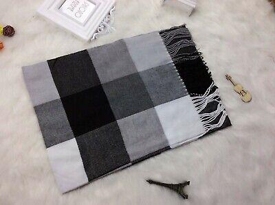 20 scarves discount pashmina men unisex plaid checked wholesale shawls 12