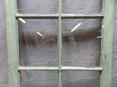 Antique 6 Lite Window Sash 35x20 Casement Sunroom Architectural Old Vtg 625-18P 8