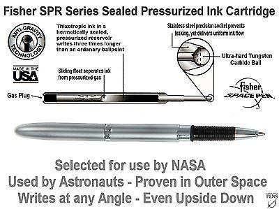 Fisher Space Pen #BGC/S - Chrome Bullet Grip Pen with Conductive Stylus Point 7