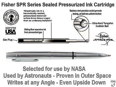 Fisher Space Pen #400WCCL / Chrome X-Mark Bullet Pen with Pocket Clip 7