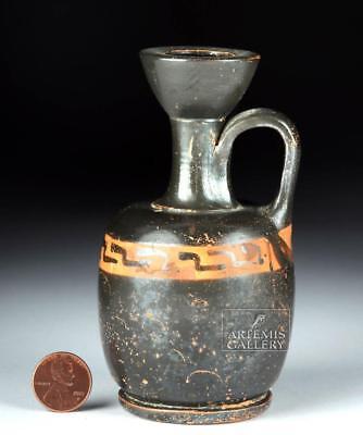Greek Apulian Pottery Lekythos Lot 22B