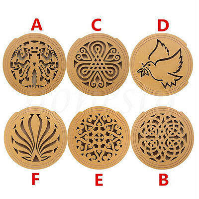 Soundhole Cover For Acoustic Guitar Feedback Buster Sound Buffer Hole Protector 2