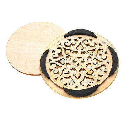 Soundhole Cover For Acoustic Guitar Feedback Buster Sound Buffer Hole Protector 11
