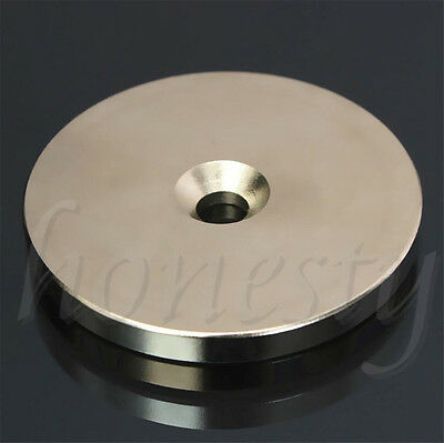 1PC N52 Super Strong Round Magnets 30mm/50mm x 5mm  Disc Rare Earth Neodymium 2