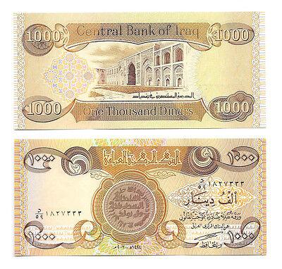 Iraqi Dinar 5000 5 X 1000 Unc Total Of Iraq Out