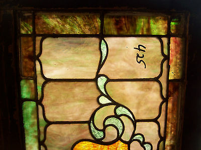 Stained glass Crest center feature window  (SG 1331) 2