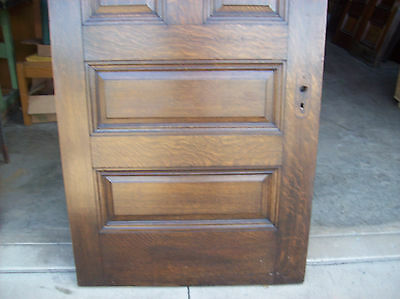 Solid Oak Int. door 5 Raised panels very nice door (D 8) 4