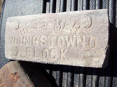 Youngstown BESSEMER Block Bricks w/ Bevel edge 2