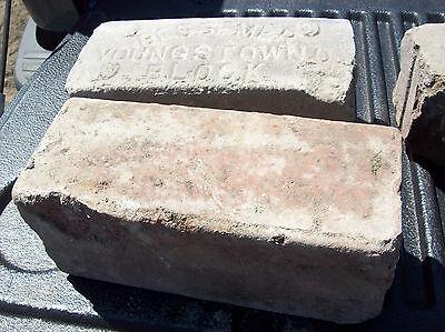 Youngstown BESSEMER Block Bricks w/ Bevel edge
