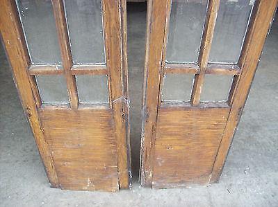 rough veneer side lights great beveled glass   (SG 1464) 5