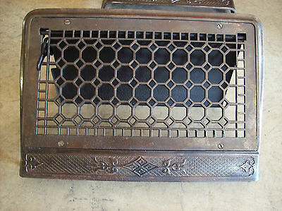 Wide Honey comb single wall mount heating grates (G 442) 2