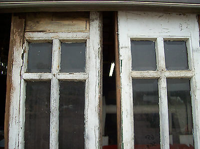 rough veneer side lights great beveled glass   (SG 1464) 3