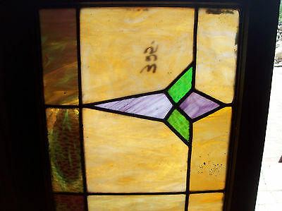 Arts & Crafts Symmetrical Stained glass window (SG 1306) 2