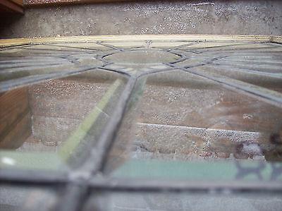 Oval Center Bevel burst glass window  (SG 1367) 5