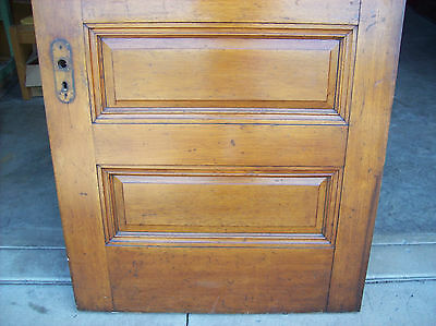 Solid Oak Int. door 5 Raised panels very nice door (D 8) 2