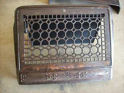 Honey Comb Heating grate wall mount framed (G 443) 2