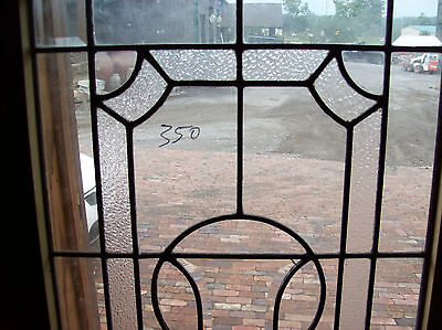 beveled and textured glass featured in this window (SG 1501) 2