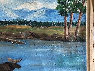 Marcel Fournier Painting Original Antique RARE Appraised $4000 + 7