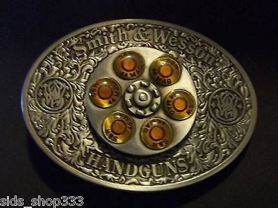 Arts,crafts & Sewing 5barrel 44mag Bullet Spinner Belt Buckle