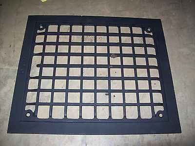 Single flat square design heating grate top (G 170) 2