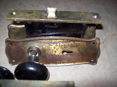 matching clay knobs sets black (TDH 33) 3