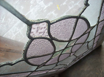 Beveled diamond center piece surrounded with textured glass  (SG 1370) 5