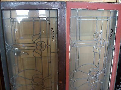 3 available matching floral flat glass transoms   (SG 1507) 2
