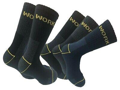 12 Paia Calze Calzini Uomo Da Lavoro Rinforzati Resistenti Work Socks 2