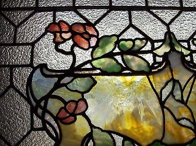 Pretty Floral covered urn geometrical   (SG 1561) 4
