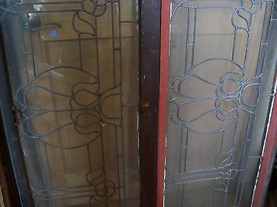 3 available matching floral flat glass transoms   (SG 1507) 3