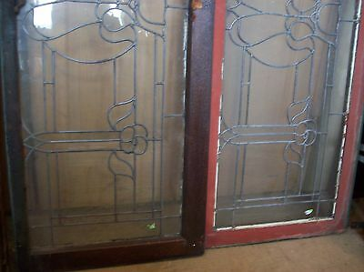 3 available matching floral flat glass transoms   (SG 1507) 4