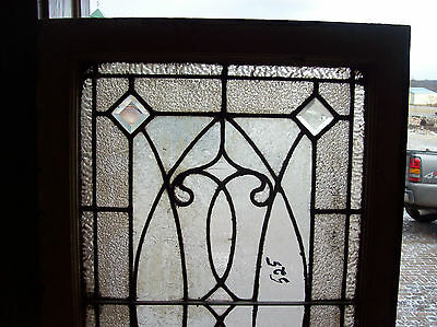 Bevels and fluted glass with textured glass widow  (SG 1378)