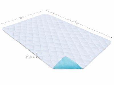 """Reusable Waterproof Bed Pad & Sheet Protector - 34"""" x 52"""" inches Underpad 3"""
