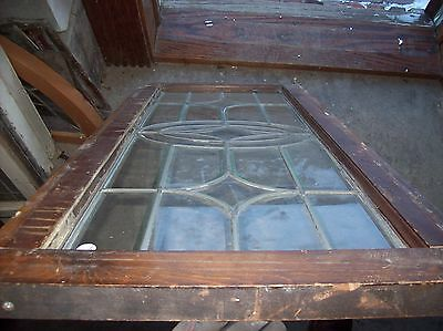beveled glass 4 pt center feature window  (Sg 1530) 2