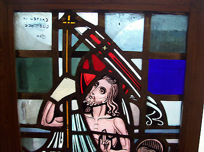 Garden of Gethsemane Stained glass window (SG 1429) 2