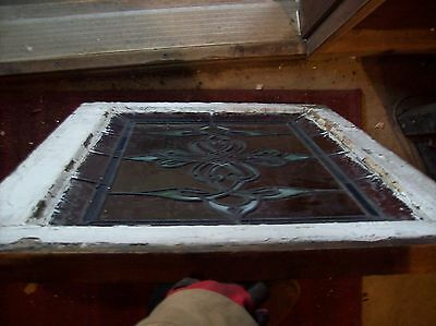 Cool Stained glass pointy window  (SG 1594) 3