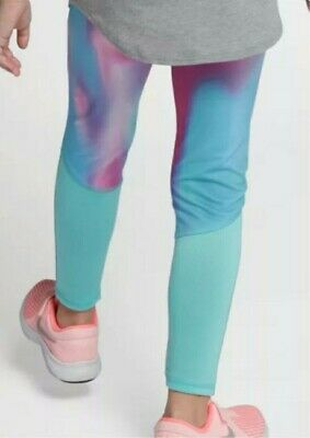 Nike Leggings Girls Junior Infants Kids Sport Casual Age UK 2 - 7 Years 3