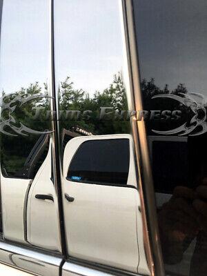 Fits 2003-2006 Infiniti G35 4dr 6PC Chrome Stainless Steel Pillars Posts GTG