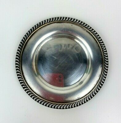 Stanley Home Products National Silverplate Wine Coaster Plate 7