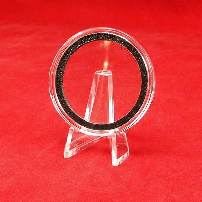 25 Air-tite 39mm Red Velour Colored Ring Coin Holder Capsules for 1oz Silver