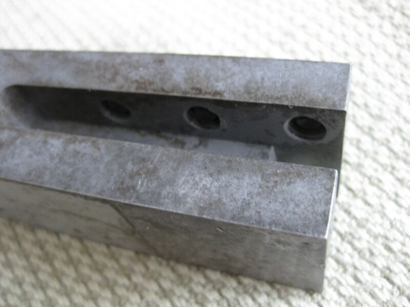 """Duke Lathe Bit Holder Adapter 1 1/4"""" to 3/8"""" Cutters Southbend Clausing LeBlond 3"""