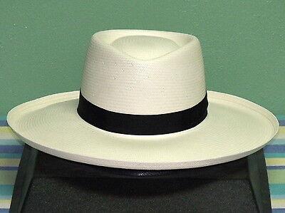 9522ff6bd87 DOBBS SAN JUAN Shantung Straw Planters Gambler Hat -  85.95