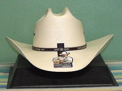 155f379d6af9e Hats RESISTOL GEORGE STRAIT HAZER 10X SHANTUNG STRAW COWBOY WESTERN HAT